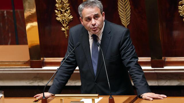 Xavier Bertrand à l'Assemblée nationale le 17 juillet 2014 à Paris [François Guillot / AFP/Archives]