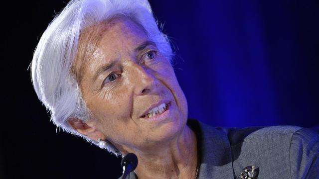Christine Lagarde le 18 juillet 2014 à Paris [Miguel Medina / AFP/Archives]