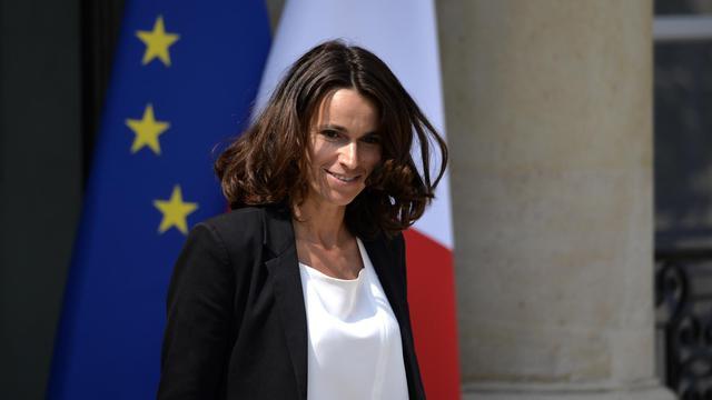 Aurélie Filippetti le 23 juillet 2014 à la sortie du Conseil des ministres à l'Elysée à Paris  [Miguel Medina / AFP/Archives]