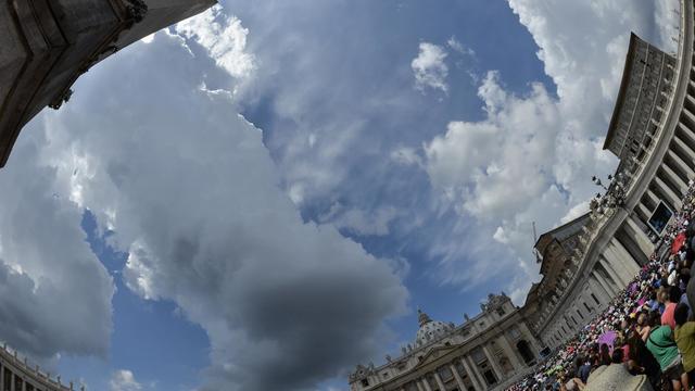 Saint Pierre de Rome au Vatican le 27 juillet 2014 [Andreas Solaro / AFP]