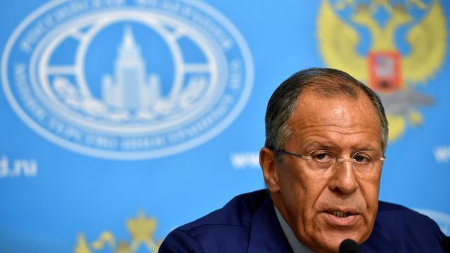Le ministre russe des Affaires étrangères, le 28 juillet 2014, à Moscou [Kirill Kudryavtsev / AFP/Archives]