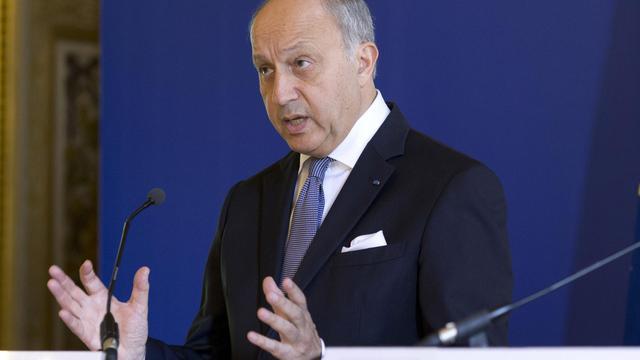 Le ministre des Affaires étrangères, Laurent Fabius lors d'une conférence de presse à son ministère à Paris, le 28 juillet 2014 [Kenzo Tribouillard / AFP/Archives]