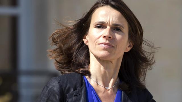 La ministre de la Culture Aurélie Filippetti à l'Elysée, le 30 juillet 2014 [Kenzo Tribouillard / AFP/Archives]