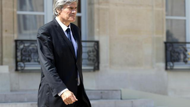 Le ministre français de l'Agriculture, Stéphane Le Foll, le 30 juillet 2014 à l'Elysée, à Paris [Kenzo Tribouillard / AFP/Archives]