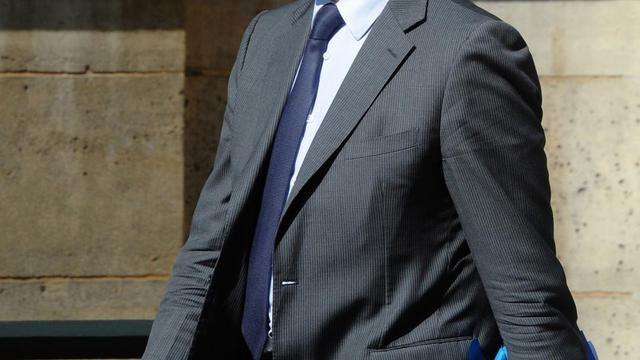 Le ministre de l'Economie Arnaud Montebourg à son arrivée au séminaire gouvernemental au Palais de l'Elysée, le 1er août 2014 [DOMINIQUE FAGET / AFP]