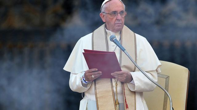 Le pape François sur la place Saint-Pierre à Rome, le 5 août 2014 [Alberto Pizzoli / AFP/Archives]