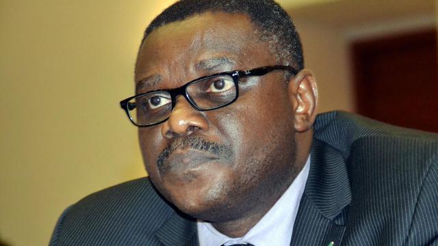 Le ministre nigérian de la Santé, Onyebuchi Chukwu,  le 6 août 2014 à Abuja [ / AFP/Archives]