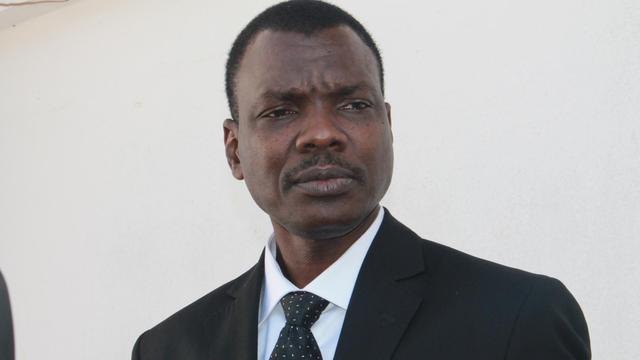 Le Premier ministre centrafricain Mahamat Kamoun le 11 août 2014 à Bangui [Pacome Pabandji / AFP/Archives]