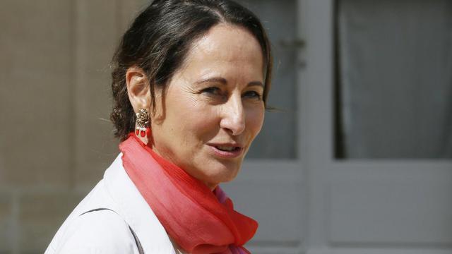 La ministre de l'Écologie Ségolène Royal au Palais de l'Elysée à Paris, le 20 août 2014 [PATRICK KOVARIK / AFP/Archives]