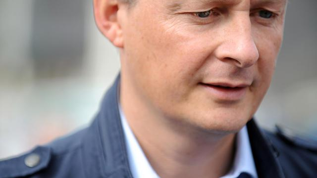 Bruno Le Maire le 24 août 2014 à Carnac [Fred Tanneau / AFP]