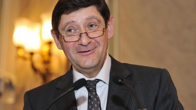Patrick Kanner, nommé le 26 août 2014 ministre de la Ville, de la Jeunesse et des Sports, le 31 mars 2011 à Lille [Philippe Huguen / AFP/Archives]