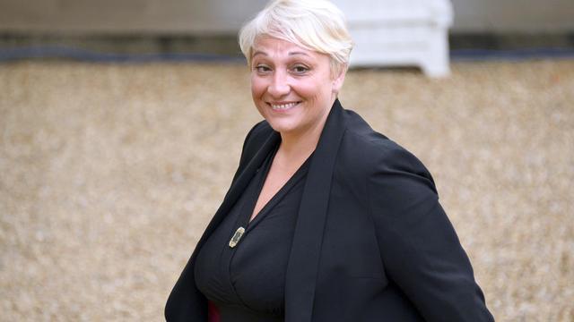 La nouvelle secrétaire d'Etat aux droits des femmes Pascale Boistard, mercredi 27 aout 2014 à l'Elysée à Paris [Bertrand Guay / AFP]