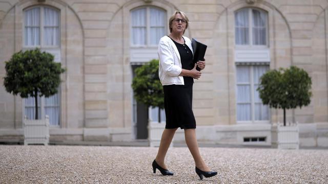 Marylise Lebranchu, ministre chargée de la décentralisation et de la fonction publique, le 27 aout à Paris [Fred Dufour / AFP]
