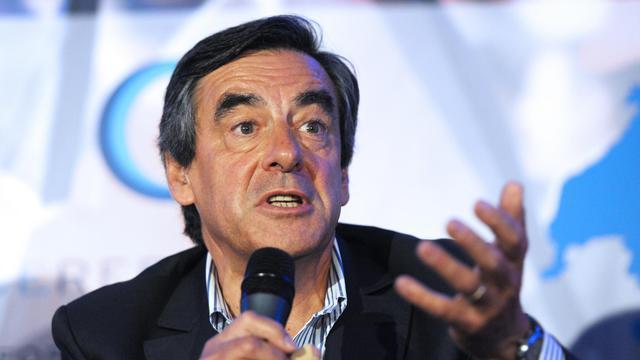 François Fillon le 27 août 2014 à Rouez-en-Champagne [Jean-François Monier / AFP]