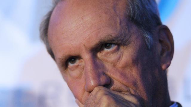 L'ancien ministre (UMP) Gérard Longuet lors d'un meeting à Rouez-en-Champagne le 27 août 2014 [Jean-François Monier / AFP/Archives]