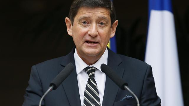 Patrick Kanner, nouveau ministre de la Ville, de la Jeunesse et des Sports, est le nordiste du gouvernement le 27 août 2014 à Paris [Patrick Kovarik / AFP]