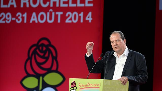Jean-Christophe Cambadélis à La Rochelle, le 29 août 2014 [Jean-Pierre Muller / AFP]