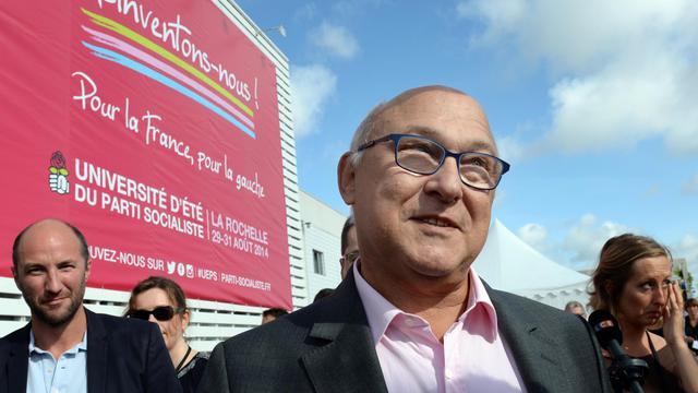 Le ministre français des Finances Michel Sapin à l'Université d'été du PS à La Rochelle le 30 août 2014 [Mehdi Fedouach / AFP/Archives]