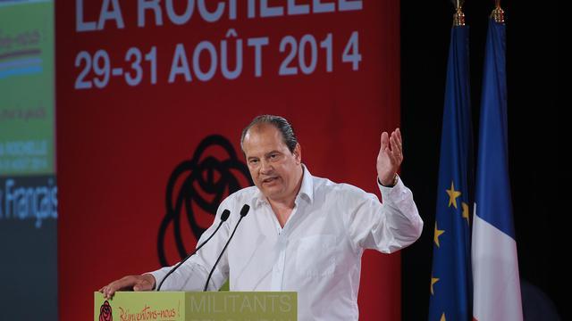 Jean-Christophe Cambadelis le 31 août 2014 à La Rochelle [Xavier Leoty / AFP]