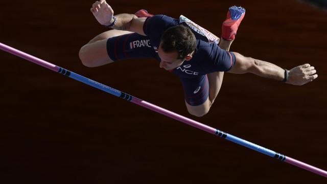 Le recordman du monde de la perche Renaud Lavillenie, ici lors des Championnats d'Europe de Zurich, le 16 août 2014 [Franck Fife / AFP/Archives]