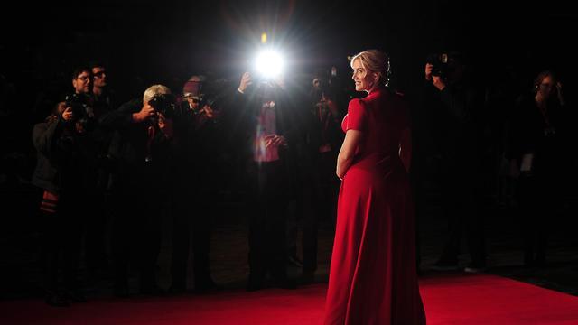 L'actrice Kate Winslet pose à Londres le 14 octobre 2013 [Carl Court / AFP/Archives]