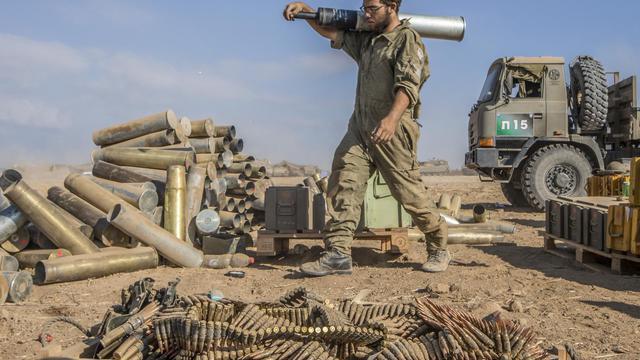 Un soldat israélien à la frontière avec la bande de Gaza, le 31 juillet 2014 [Jack Guez / AFP]