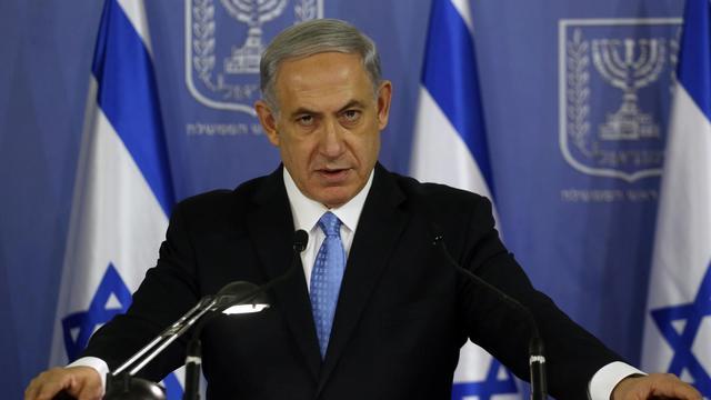 Le Premier ministre israélien, Benjamin Netanyahu, le 2 août 2014 à Tel Aviv [Gali Tibbon / AFP/Archives]
