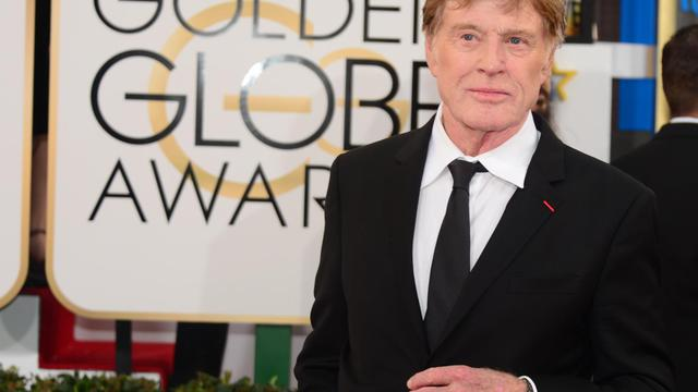 L'acteur et réalisateur américain Robert Redford, à la cérémonie des 71e Golden Globes à Beverly Hills, le 12 janvier 2014 [Frederic J Brown / AFP/Archives]