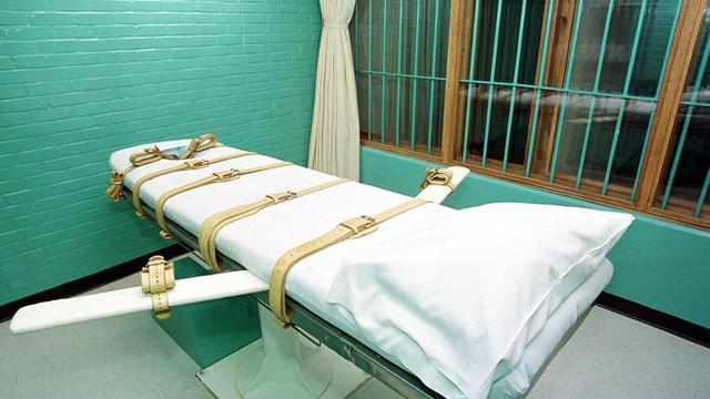Chambre d'exécution par injection létale, à Huntsville, Texas [Paul Buck / AFP/Archives]