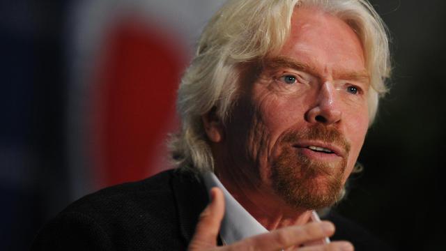 Sir Richard Branson, le patron du groupe Virgin, le 3 avril 2014 à Washington [Mandel Ngan / AFP/Archives]