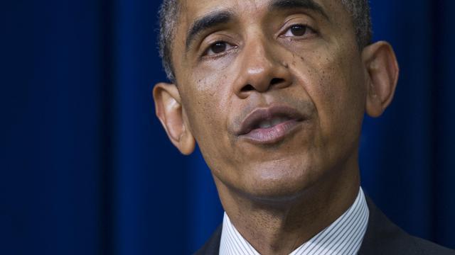 Le président Barack Obama à Washington, le 10 juin 2014 [Mandel Ngan / AFP]