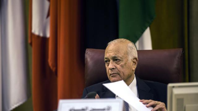 Nabil al-Arabi, le Secrétaire général de la Ligue arabe, le 15 juillet 2014 au Caire [Khaled Desouki / AFP/Archives]