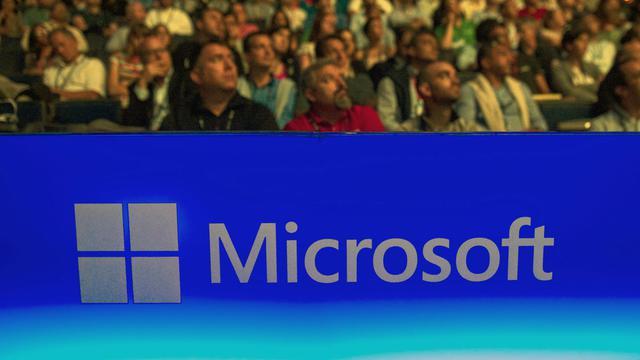 Des spectateurs à une conférence organisée par Microsoft, le 16 juillet 2014 à Washington [Saul Loeb / AFP]