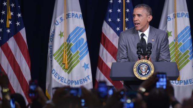 Le président Barack Obama, le 31 juillet 2014 à Washington [Mandel Ngan / AFP]