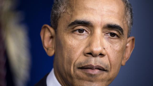 Le président Barack Obama, le 1er août 2014 à Washington [Brendan Smialowski / AFP]
