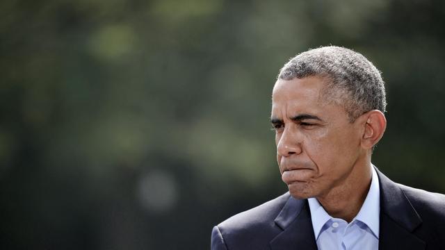Le président américain Barack Obama le 9 août 2014 à Washington [Mandel Ngan / AFP/Archives]