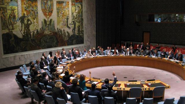 Le Conseil de sécurité des Nations unies réuni le 15 août 2014 au siège de l'organisation internationale à New York [Don Emmert / AFP]