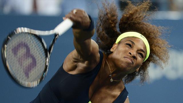L'Américaine Serena Williams, qui affronte l'Italienne Sara Errani vendredi en demi-finale de l'US Open, est un rouleau compresseur lancé vers la conquête d'un 15e titre du Grand Chelem. [AFP]