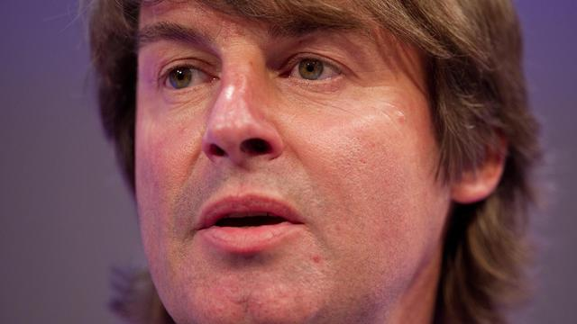 Portrait du patron de G4S, Nick Buckles, en 2010 à Londres [Leon Neal / AFP/Archives]