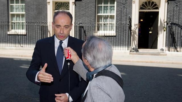 Le président de l'UMP Jean-François Copé, le 5 juin 2013 à Londres [Leon Neal / AFP]