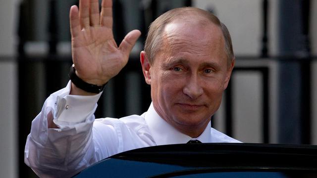 Le président russe Vladimir Poutine le 16 juin 2013 à Londres [Justin Tallis / AFP]