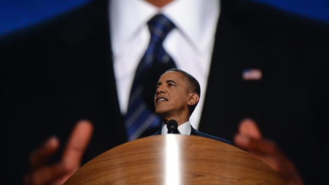 L'annonce de chiffres décevants sur l'emploi aux Etats-Unis vendredi a jeté un froid sur la campagne de Barack Obama, au lendemain de la fin de la convention démocrate où, en quête d'un second mandat, il a tenté de convaincre que le changement restait possible. [AFP]
