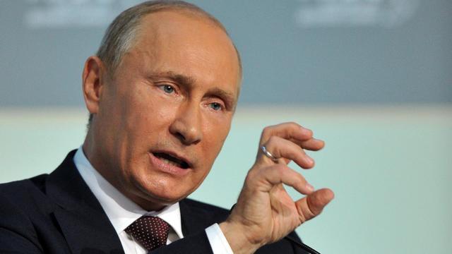 Le président russe Vladimir Poutine a insisté vendredi sur l'importance pour la Russie de profiter davantage de son ancrage dans la région Asie-Pacifique, la plus dynamique au monde, à l'heure où ses partenaires occidentaux traversent une crise profonde. [POOL]