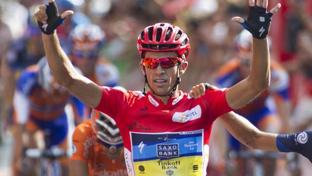 Alberto Contador, qui vient de remporter son deuxième Tour d'Espagne, et Oscar Freire, triple champion du monde, mèneront l'équipe d'Espagne aux Championnats du monde sur route du 15 au 23 septembre aux Pays-Bas, selon la pré-liste dévoilée mardi [AFP]