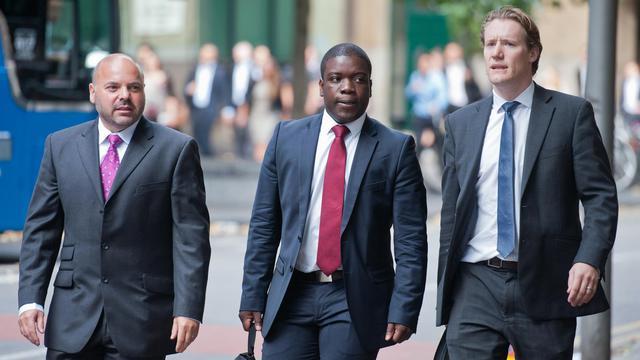 Le procès de Kweku Adoboli, un ex-trader d'UBS jugé pour une fraude qui a coûté 2,3 milliards de dollars (environ 1,8 milliard d'euros) à la banque suisse, s'est ouvert lundi devant la cour criminelle de Southwark Londres, a constaté une journaliste de l'AFP. [AFP]