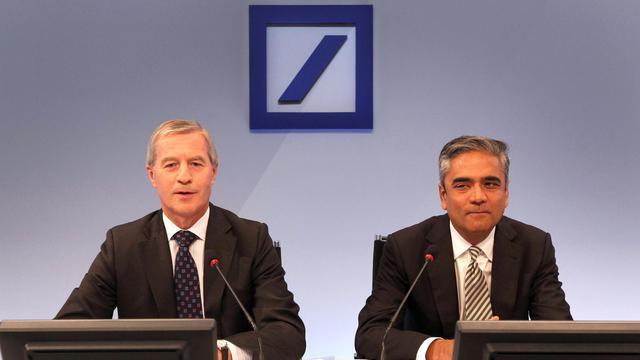 La première banque allemande Deutsche Bank a annoncé mardi un plan d'économies de 4,5 milliards d'euros annuelles d'ici 2015 contre 3 milliards annoncés en juillet, pour s'adapter à un environnement de marché plus difficile. [AFP]
