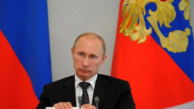 Vladimir Poutine le 13 septembre 2012 à Sochi [Alexey Druzhinin / AFP/Archives]