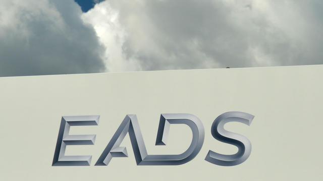 Logo d'EADS le 13 septembre 2012 [Johannes Eisele / AFP]