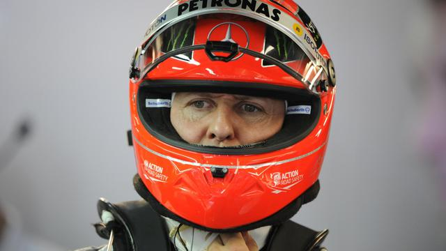 Le pilote allemand Michael Schumacher lors du GP de F1 de Monaco, le 24 mai 2012. [Boris Horvat / AFP/Archives]