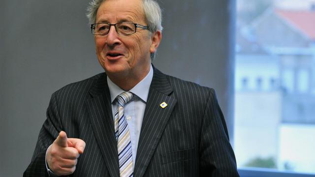 Le président de l'Eurogroupe Jean-Claude Juncker, le 13 décembre 2012 à Bruxelles [Georges Gobet / AFP]
